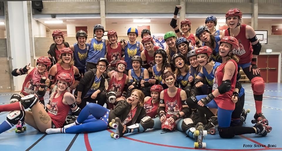 Västerås Roller Derby möter Stockholm Roller Derby