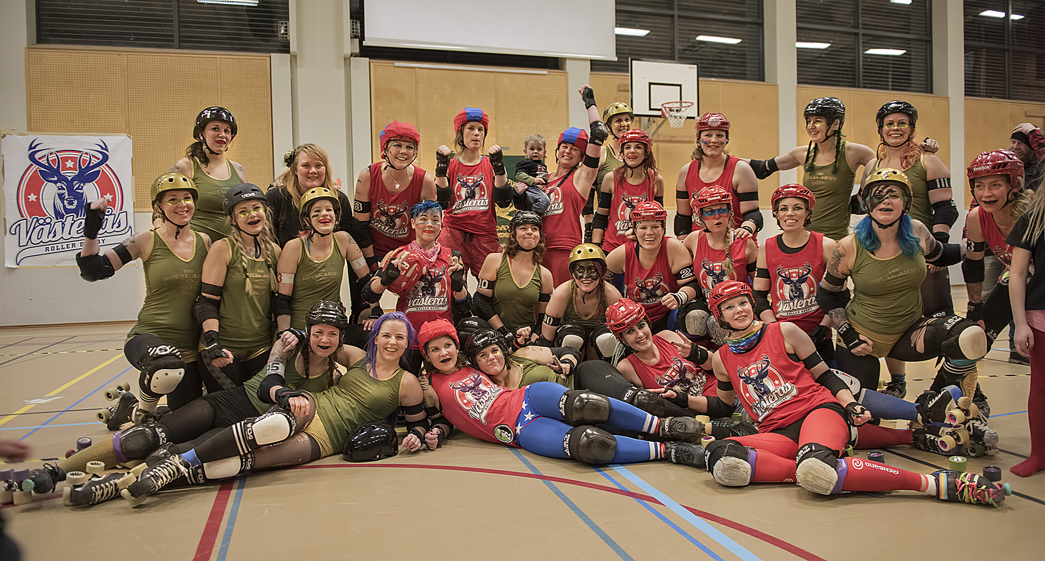 Västerås Roller Derby vs Royal Army